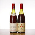 Red Burgundy, Gevrey Chambertin . Clos St. Jacques, Clair-Dau . 1961 5.5cm, lbsl, cc, excellent color and condition Bottle (1). ... (Total: 2 Btls. )