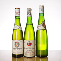 Riesling Auslese 1945 Niersteiner Kehr, Hermannshof Late Release, excellent color and condition Bottle (1) 1959 Wiltinge...