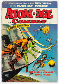 Atom-Age Combat #5 (St. John, 1953) Condition: FR/GD