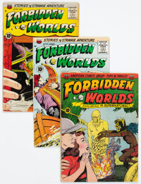 Forbidden Worlds #8, 60, and 64 Group (ACG, 1952-58).... (Total: 3 Items)