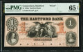 Obsoletes By State:Connecticut, Hartford, CT- Hartford Bank $1 18__ as G72b Proof PMG Gem Uncirculated 65 EPQ.. ...