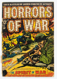 Horrors #11 (Star Publications, 1953) Condition: FR/GD