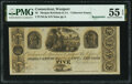 Obsoletes By State:Connecticut, Westport, CT- Unknown Issuer at Morgan Ketchum & Co. $5 18__ Remainder UNL PMG About Uncirculated 55 EPQ.. ...