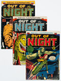 Golden Age (1938-1955):Horror, Out of the Night Group (ACG, 1952-54).... (Total: 3 Comic Books)
