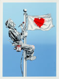 Prints & Multiples, Mr. Brainwash (b. 1966). One Love, 2011. Screenprint in colors on Archival Art paper. 30 x 22 inches (76.2 x 55.9 cm) (s...