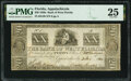 Obsoletes By State:Florida, Apalachicola, FL- Bank of West Florida $20 Nov. 3, 1832 G38 PMG Very Fine 25.. ...