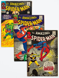The Amazing Spider-Man Group of 54 (Marvel, 1966-80) Condition: Average FN.... (Total: 54 )