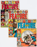 Golden Age (1938-1955):Miscellaneous, Feature Comics Group of 8 (Quality, 1943-49) Condition: Average VG/FN.... (Total: 8 Comic Books)