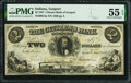 Obsoletes By State:Indiana, Gosport, IN- Citizens Bank of Gosport $2 July 1, 1857 G4a Wolka 0770-02 PMG About Uncirculated 55 EPQ.. ...