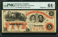 Obsoletes By State:Kentucky, Frankfort, KY- Farmers Bank of Kentucky $5 18__ Remainder G220a Hughes 255 PMG Choice Uncirculated 64 EPQ.. ...