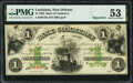 New Orleans, LA- Bank of Commerce $1 May 5, 1862 Remainder G42a PMG About Uncirculated 53