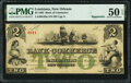 New Orleans, LA- Bank of Commerce $2 Post Note May 5, 1862 Remainder G48a PMG About Uncirculated 50 EPQ