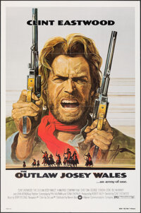 """The Outlaw Josey Wales (Warner Bros., 1976). Folded, Very Fine+. One Sheet (27"""" X 41"""") Roy Anderson Artwork. W..."""