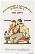 """Movie Posters:Crime, The Sting (Universal, 1973). Folded, Very Fine-. One Sheet (27"""" X 41"""") Richard Amsel Artwork. Crime.. ..."""