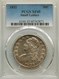 Bust Half Dollars: , 1832 50C Small Letters XF45 PCGS. PCGS Population: (514/1997). NGC Census: (250/1347). CDN: $175 Whsle. Bid for NGC/PCGS XF...