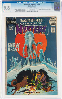 House of Mystery #199 Northland Pedigree (DC, 1972) CGC NM/MT 9.8 Off-white to white pages