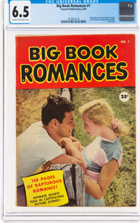 Big Book Romances #1 (Fawcett Publications, 1950) CGC FN+ 6.5 Cream to off-white pages