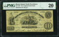 Obsoletes By State:Rhode Island, North Providence, RI- New England Pacific Bank Spurious $10 May 1, 1862 S5 Durand 788 PMG Very Fine 20.. ...
