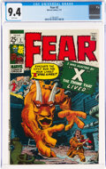 Bronze Age (1970-1979):Horror, Fear #2 (Marvel, 1971) CGC NM 9.4 White pages....