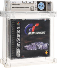 Gran Turismo - Wata 9.8 A+ Sealed [Sony Security Label], PS1 Sony 1998 USA