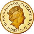 """Great Britain, Great Britain: Elizabeth II gold Proof """"Una and the Lion"""" 2000 Pounds (2 Kilos) 2019 PR69 Ultra Cameo NGC,..."""