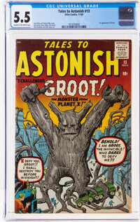 Tales to Astonish #13 (Atlas, 1960) CGC FN- 5.5 Cream to off-white pages