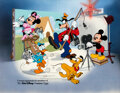 """Animation Art:Seriograph, """"Disney/CalArts"""" Mickey Mouse and Friends Limited Edition Sericel (Walt Disney, 1991)...."""