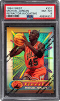 Basketball Cards:Singles (1980-Now), 1994 Finest Michael Jordan (Refractor w/Coating) #331 PSA NM-MT 8....