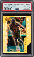 Basketball Cards:Singles (1980-Now), 1996 Bowman's Best Cuts Michael Jordan (Refractor) #BC2 PSA NM-MT 8. ...