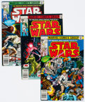 Bronze Age (1970-1979):Science Fiction, Star Wars Group of 11 (Marvel, 1977-78) Condition: Average NM-.... (Total: 11 Comic Books)