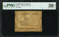 Continental Currency May 10, 1775 $6 PMG About Uncirculated 50 EPQ