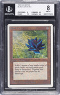 Memorabilia:Trading Cards, Magic: The Gathering Unlimited Edition Black Lotus BGS 8 NM-MT (Wizards of the Coast, 1993)....