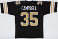 Autographs:Jerseys, Earl Campbell Signed New Orleans Jersey. ...