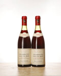 Red Burgundy, Chambertin 1966 . Clos de Beze, Comte de St. Quentin, Clair-Dau . Excellent color and condition. Bottle (2). ... (Total: 2 Btls. )