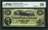 Eufaula, AL- Eastern Bank of Alabama $5 18__ Remainder G8a Rosene 68-5 PMG Choice About Unc 58