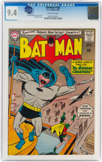 Batman #162 (DC, 1964) CGC NM 9.4 Off-white pages