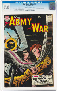 Our Army at War #83 (DC, 1959) CGC FN/VF 7.0 Cream to off-white pages