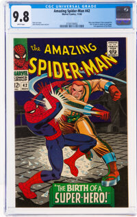 The Amazing Spider-Man #42 (Marvel, 1966) CGC NM/MT 9.8 White pages