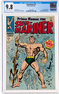 The Sub-Mariner #1 (Marvel, 1968) CGC NM/MT 9.8 Off-white to white pages