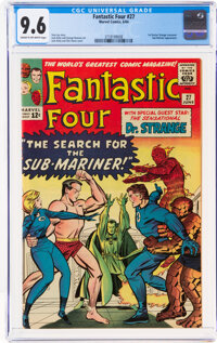 Fantastic Four #27 (Marvel, 1964) CGC NM+ 9.6 Cream to off-white pages