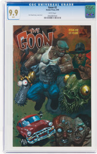 The Goon #2 (Avatar Press, 1999) CGC MT 9.9 White pages