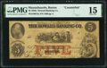 Obsoletes By State:Massachusetts, Boston, MA- Howard Banking Company Counterfeit $5 Aug. 23, 1858 C8a PMG Choice Fine 15.. ...