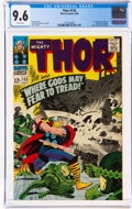 Silver Age (1956-1969):Superhero, Thor #132 (Marvel, 1966) CGC NM+ 9.6 White pages....