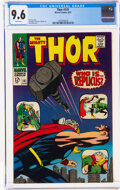 Silver Age (1956-1969):Superhero, Thor #141 (Marvel, 1967) CGC NM+ 9.6 White pages....