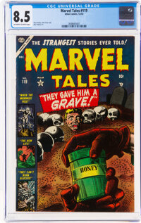 Marvel Tales #119 (Atlas, 1953) CGC VF+ 8.5 Off-white to white pages