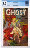 Golden Age (1938-1955):Horror, Ghost #4 (Fiction House, 1952) CGC VG/FN 5.0 Off-white pages....