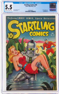 Startling Comics #49 (Better Publications, 1948) CGC FN- 5.5 Cream to off-white pages