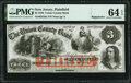 Obsoletes By State:New Jersey, Plainfield, NJ- Union County Bank $3 Sep. 12, 1859 Remainder G6a PMG Choice Uncirculated 64 EPQ.. ...