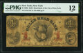 Obsoletes By State:New York, New York, NY- Bull's Head Bank of the City of New York $1; Counterfeit $3 Faded as G2, C6c PMG Fine 12; Fine.. ... (Total: 2 notes)