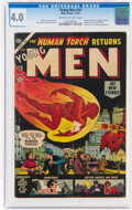 Golden Age (1938-1955):Superhero, Young Men #24 (Atlas, 1953) CGC VG 4.0 Cream to off-white pages....